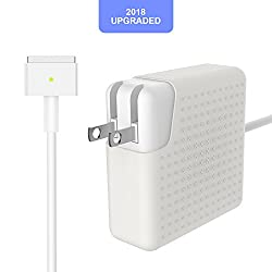 MacBook Pro Charger, AC 60W Magsafe 2 T-Tip Power Adapter Replacement for MacBook Pro with 13-inch Retina Display - After Late 2012