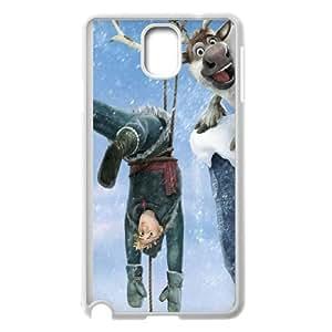 Christmas Frozen Samsung Galaxy Note 3 Cell Phone Case White Pretty Present zhm004_5001131