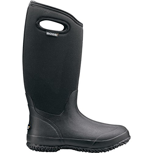 High Handle Waterproof Insulated Boot,Black,8 M US (Bogs Waterproof Boots)
