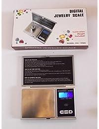 Acquisition 1 DIGITAL JEWELRY POCKET SCALE-Jeweler Lapidary CARATS Tool-Rough Diamond/Gemstone Gems + 5 Gram Gold Test Bar deal