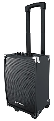 Sharper Image SBT1008 Bluetooth Wireless Tailgate Speaker With Built-in Amplifier And Guitar Jack by Sharper Image
