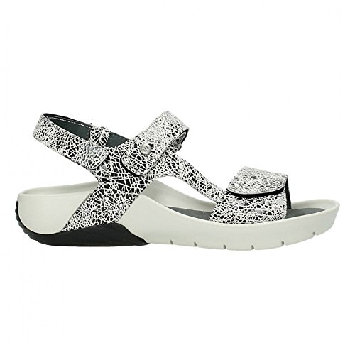Wolky 1126 Bullet Off White Womens Sandals Off White