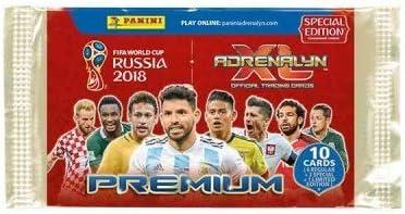 Paquetes Premium Panini Adrenalyn XL De La Copa Mundial De La FIFA 2018 Con Edición Limitada: Amazon.es: Juguetes y juegos
