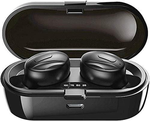 Bluetooth-Kopfhörer, Aclouddatee 2020 Bluetooth 5.0 Wireless-Kopfhörer Stereo-Soundmikrofon Mini-Wireless-Ohrhörer mit Kopfhörern und tragbarem Ladekoffer für iOS Android PC (A2-3)