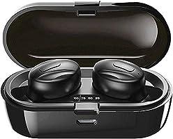 Bluetooth-Kopfhörer, Aclouddatee 2020 Bluetooth 5.0 Wireless-Kopfhörer Stereo-Soundmikrofon Mini-Wireless-Ohrhörer mit...
