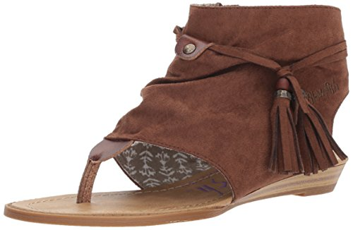 Blowfish Womens Whiskey Wedge Sandal Wedge Whiskey Brueke Sandal Brueke Blowfish Womens q1qardOxw