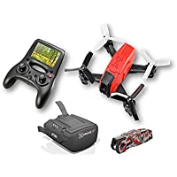 RC EYE Xtreme V2 Vantage, FPV Quadcopter, 5.8 GHz VTX, HD camera, brushless motors, TX with 4.3 monitor, Plug and Play, Altitude height hold, Auto flip and roll, FPV Headset