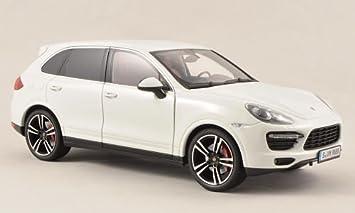 Porsche Cayenne Turbo S, blanco , Modelo de Auto, modello completo, Minichamps 1:18: Amazon.es: Juguetes y juegos