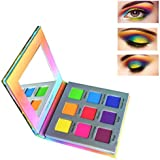 Highly Pigmented Eyeshadow Palette,YMH BEAUTE 9 Color Bright Eye Makeup Palette Colorful Matte Eye Shadow Palettes Long…