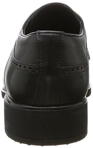 Wyndham Negro Derby Schwarz para Hombre Zapatos Cordones de 5606 AZAxqr7