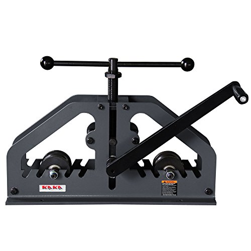 (KAKA Industrial TR-60 Tube Roll Bender, and Versatility Bender, High adjustability, Portable Tubing Pipe)