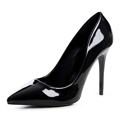 vestir Zapatos negro mujer para topschuhe24 de Negro FE7qxOOw