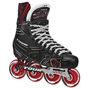 Tour Hockey Adult FB-725 LE Inline Hockey Skates Black/RED Size 3
