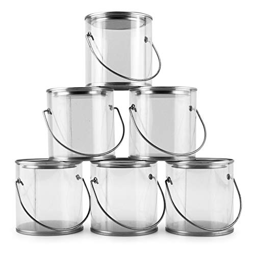 mini plastic buckets with lids - 7