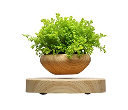 Levitating Air Bonsai Pot Magnetic Levitation Suspension Flower And Air Bonsai Pot
