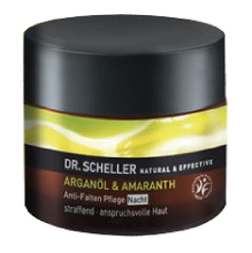 Dr. Scheller Argan Oil and Amaranth Anti-Wrinkle Night Care, 1.7 Ounce