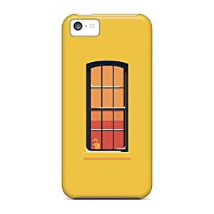 CAF10137MwjT Cases Covers Protector For Iphone 5c Orange Window Cases