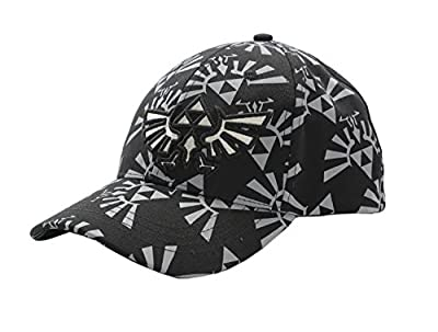 Xcoser LOZ Cosplay Baseball Snapback Cap Hat Embroidered Triforce from XCOSER