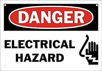 Señal de Seguridad de Peligro eléctrico, Letrero de ...