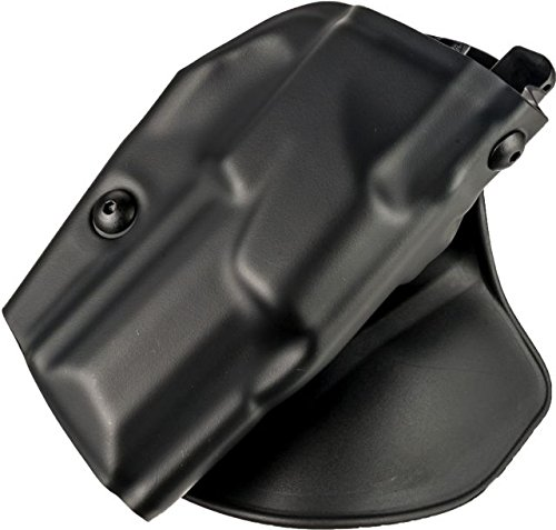 Safariland S and W most J-Frame 2-Inch 6378 ALS Concealment Paddle Holster, Plain Black, Right Handed