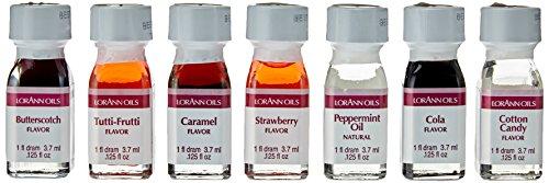 Lorann Oils Lebensmittel Aromen Set - My little Candy, 1er Pack (1 x 26 g)