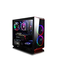CLX Set VR-Ready Gaming Desktop - AMD Ryzen 7 2700X 8-Core, 16GB DDR4, NVIDIA GeForce RTX 2060 6GB, 240GB SSD+2TB HDD, WiFi, Win 10