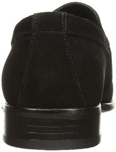 Venta barata de la venta Proveedor más grande en venta Mandell Poco Toe-moc De Stacy Adams Hombres Slip-on Mocasines De Ante Negro FXPy4cFq