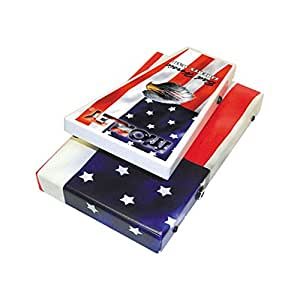 morley steve vai liberty wah guitar effects pedal american flag musical instruments. Black Bedroom Furniture Sets. Home Design Ideas