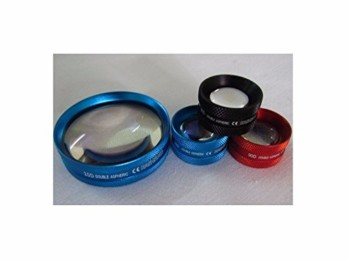 78D+90D+20D ASPHERIC NON CONTACT LENS FOR OPHTHALMOLOGY AND OPTOMETRY