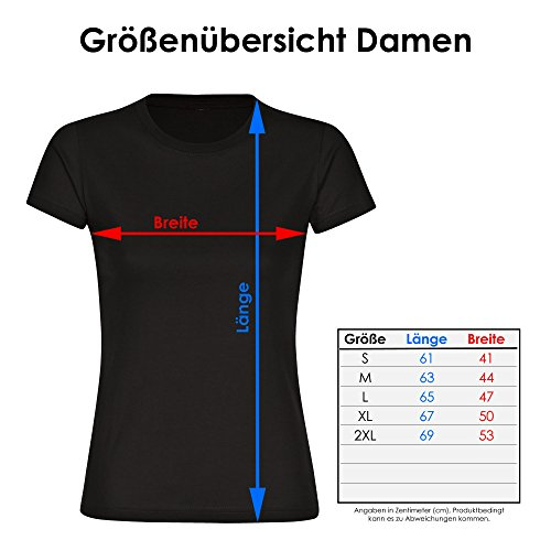 T-Shirt Modern I Love Optiker schwarz Damen Gr. S bis 2XL