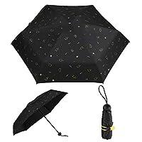 UBUDDY Cute Mini Umbrella, Travel Compact Sun Rain Umbrella Ultra Light Women Purse Umbrellas UV Protection Coating