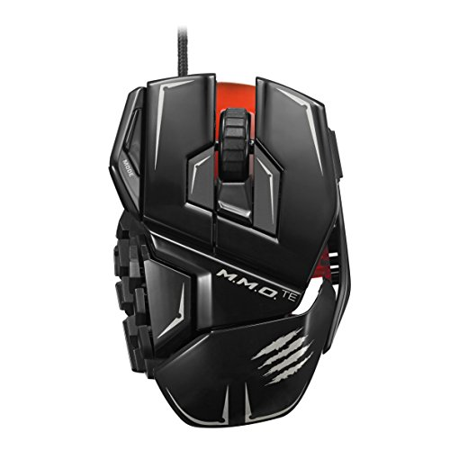 Mad Catz M.M.O.TE Tournament Edition Gaming Mouse for PC -Gloss Black by Mad Catz