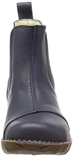 El Naturalista N158 Soft Grain Yggdrasil, Botas Chelsea para Mujer Azul (Ocean)