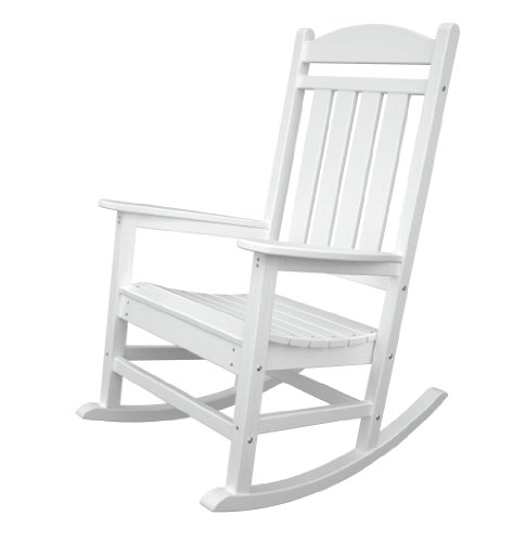 Presidential Rocker Frame Color: White