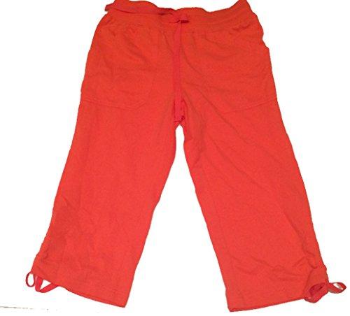 Women's Capri Pants Peach