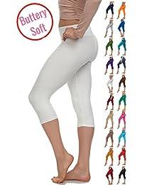 Extra Soft Capri Leggings With High Yoga wast - 20+ Best...