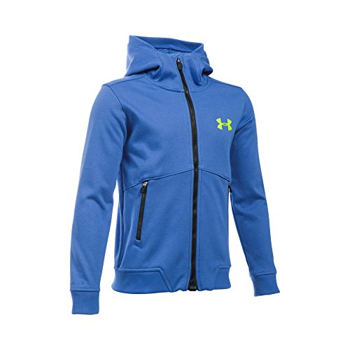 Under Armour Boys' Storm Dobson Softshell, Ultra Blue/Black, Youth Small by Under Armour