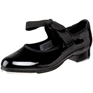Bloch Dance Annie Tyette Tap Shoe (Toddler/Little Kid/Big Kid),Black Patent,7 N US Toddler