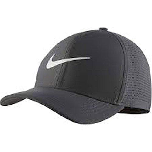 Garage Hat - Nike AeroBill Classic 99 Performance Golf Cap 2018 Dark Gray/Anthracite/White Large/X-Large