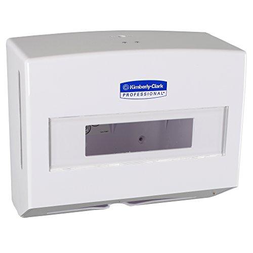 Ada Paper Towel Dispenser - Scottfold Compact Paper Towel Dispenser (09214), Small Towel Dispenser, White