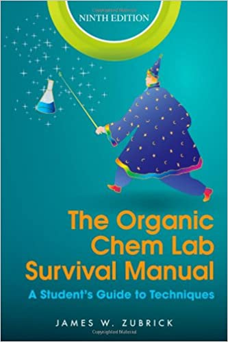 Amazon com: The Organic Chem Lab Survival Manual: A Student's Guide