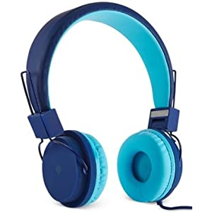 Polaroid Stereo Headphones (Foldable and Adjustable) PHP8555BL Blue