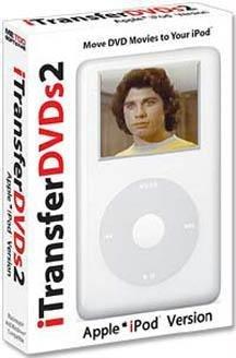 Software Ipod Pc Transfer - I Transfer DVDs 2 iPod Edition (Win/Mac)