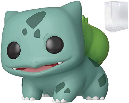 Juegos Funko Pokemon - Bulbasaur Pop! Figura de Vinilo (Incluye Estuche Protector Pop Box Compatible)