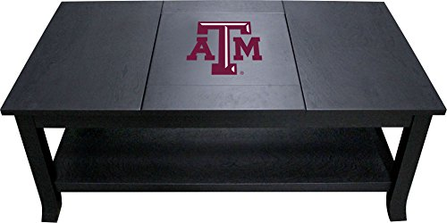 Imperial Officially Licensed NCAA Furniture: Hardwood Coffee Table, Texas A&M Aggies