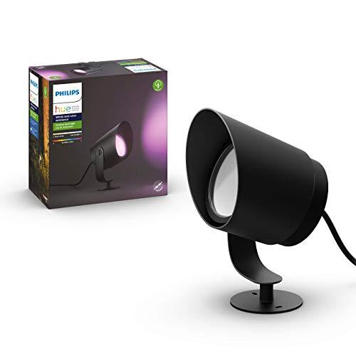 Philips Hue Lily XL-Tuinspot 1-Lichts – Buitenlamp – IP65 – Duurzame LED Verlichting – Wit en Gekleurd Licht – Dimbaar…