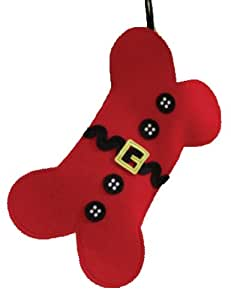 Family Pet Dog Bone Christmas Holiday Pet Stocking Mud Pie