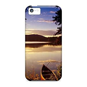 KOdawLM1609fXCWX Case Cover, Fashionable Iphone 5c Case - Fantastic View Of The Lake