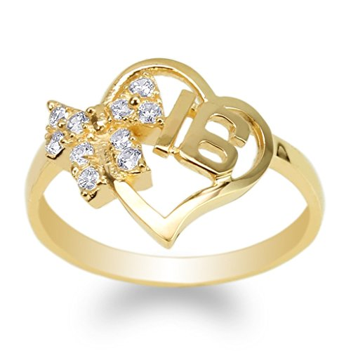 yellow ribbon ring - 2