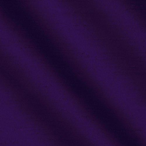 (Ben Textiles Shantung Sateen Plum Fabric by The Yard,)